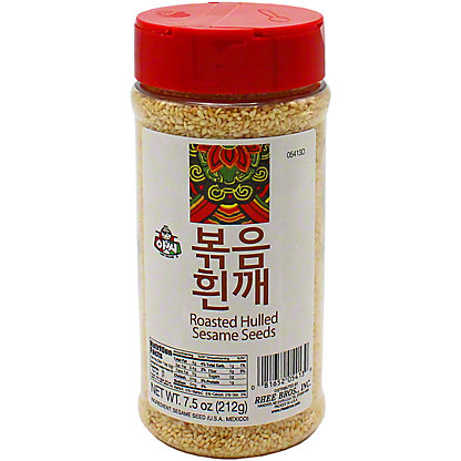 Assi Roasted White Sesame Seeds, 7.5 oz