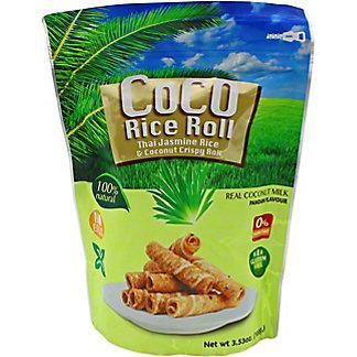Coco Riz Pandan Coconut Crispy Roll, 100 g