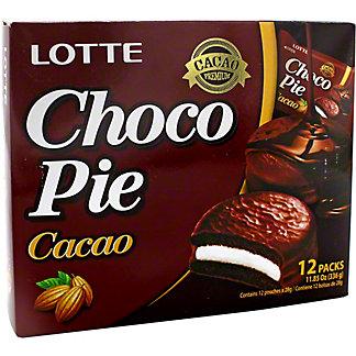 Lotte Cacao Choco Pie, 11.9 oz
