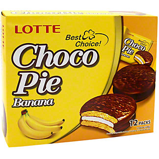 Lotte Chocopie - Banana, 11.9 oz