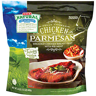H-E-B Natural Fully Cooked Chicken Parmesan, 24 oz