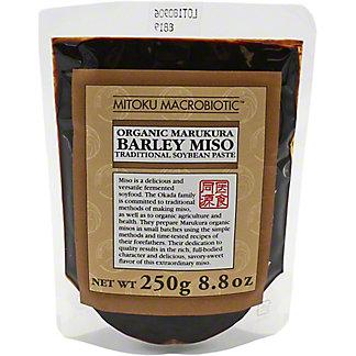 Mitoku Marukura Barley Miso Organic, 8.8 oz