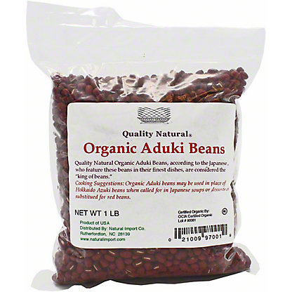 Mitoku Aduki Beans Organic, 1 lb