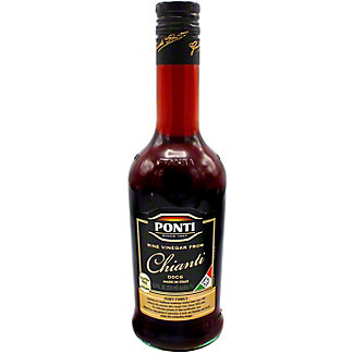 Ponti Chianti Wine Vinegar, 16.9 oz