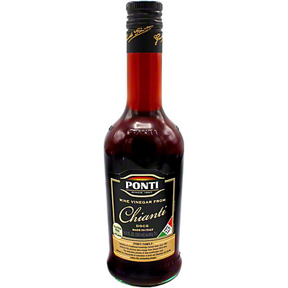 Ponti Chianti Wine Vinegar, 16.9 oz