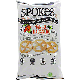 Spokes Mango Habanero Potato Puffs, 2.8 oz