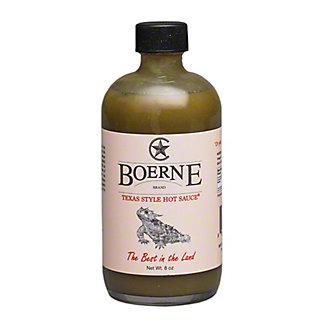 Boerne Hot Sauce Texas Style, 8 OZ