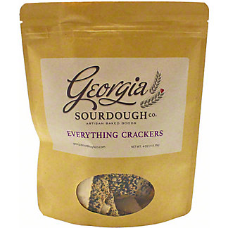 Georgia Sourdough Everything Crackers , 4 oz