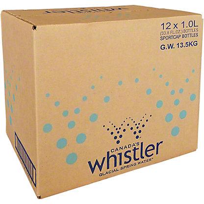 Whistler Water Artesian 1L Case, 12 pk