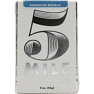 5 Mile Chocolate Dominican Republic, 2 oz