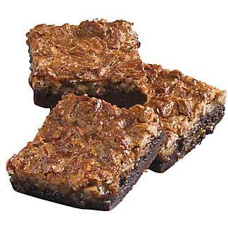 Central Market German Chocolate Brownie , 3 ct