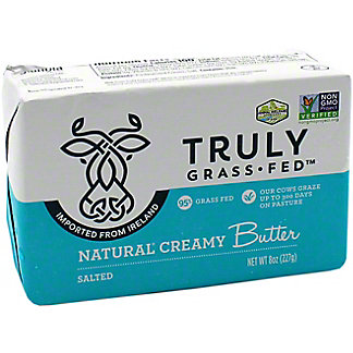 Truly Grass Fed Salted Butter, 8 OZ