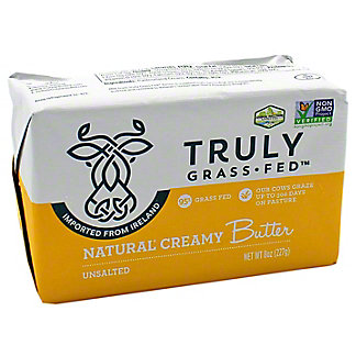 Truly Grass Fed Unsalted Butter, 8 OZ
