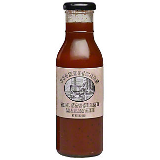 Boondockers Original BBQ & Marinade Sauce, 12 OZ