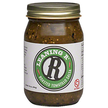 Leaning R Roasted Tomatillo Salsa, 16 OZ