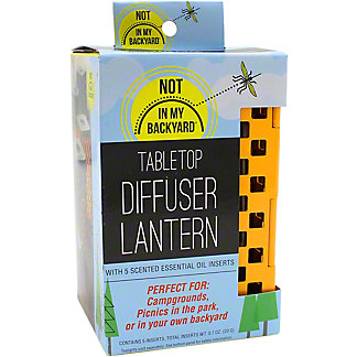 Not In My Backyard Tabletop Diffuser With Essential Oils, ea