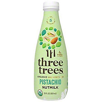 Three Trees  Organic Nutmilk Pistachio, 28 OZ