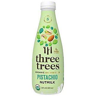 Three Trees Organic Nutmilk Pistachio, 28 OZ