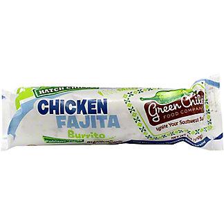 Green Chile Food Green Chile Burrito Chicken Fajita Cheddar, 6 oz