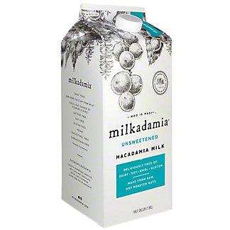 Milkadamia Unsweetened Macadamia Milk, 64 OZ