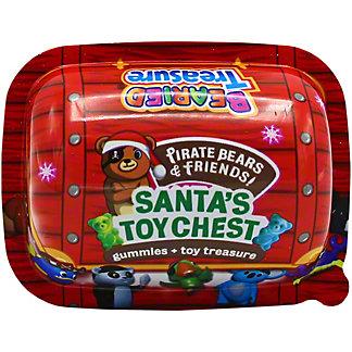 Choco Treasure Santa's Toy Chest Gummies and Toy Treasure, 1 oz