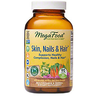 Megafood Skin Nails & Hair Multivitamin Tablets , 90 ct