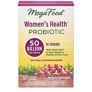 Megafood Women's Probiotic Health Capsules, 30 ct
