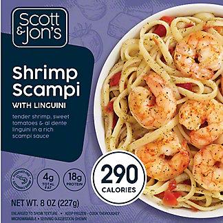 Scott & Jon's Shrimp Scampi Pasta Bowl, 8 oz