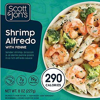 Scott & Jon's Cheating Gourmet Shrimp Alfredo Pasta Bowl, 8 oz