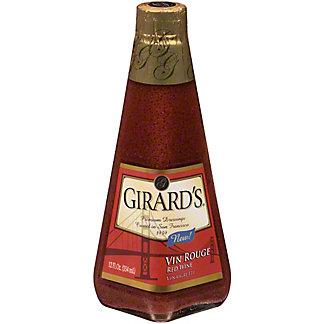 Girard's Vin Rouge Red Wine Vinaigrette, 12 oz