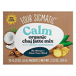 Four Sigmatic Mushroom Chai Latte With Turkey Tail & Reishi, 10 ct
