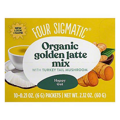 Four Sigmatic Mushroom Golden Latte With Shiitake & Turmeric, 10 ct