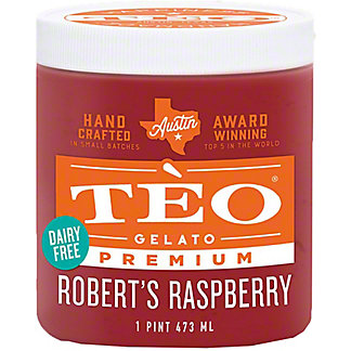 Teo Sorbetto Robert's Raspberry, 16 OZ