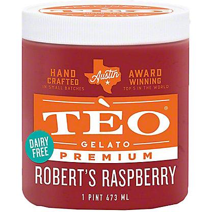 Teo Sorbetto Robert's Raspberry, 16 OZ