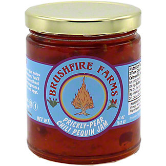 Brushfire Farms Prickly-Pear Chili Pequin Jam, 9 OZ
