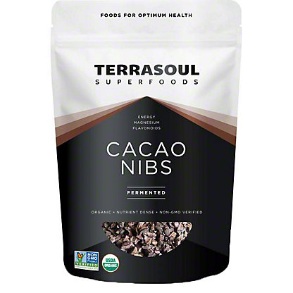 Terrasoul Superfoods Cacao Nibs, 16 oz