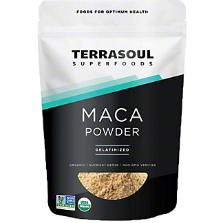 Terrasoul Superfoods Gelatinized Maca Powder, 16 oz