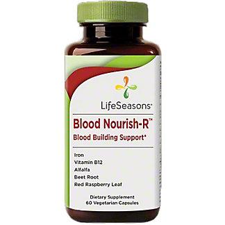 LifeSeasons Blood Nourish-R, 60 ct