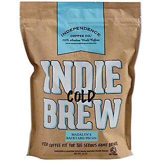 Independence Coffee Cold Brew Madalyn's Backyard Pecan Iced Coffee Kit, 6 ct