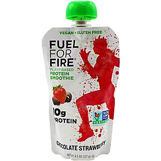 Fuel For Fire Smoothie Chocolate Strawberry, 4.5 oz