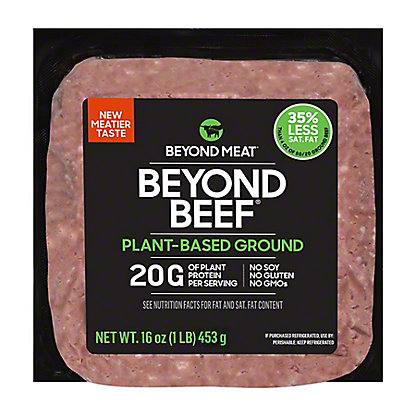 Beyond Meat Beyond Beef Plant Based Ground Beef, 1 lb