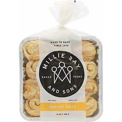 Millie Rays Orange Rolls, 15 oz