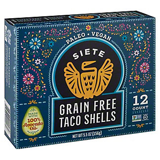 Siete Grain Free Taco Shells 12 ct., 5.5 oz