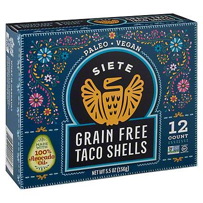 Siete Grain Free Taco Shells 12 ct., 5.5 oz