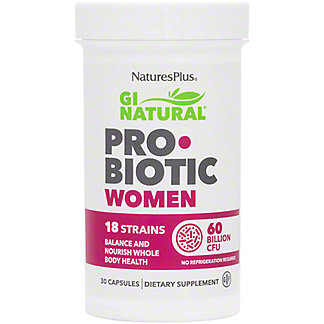 Natures Plus Gi Natural Probiotic Women, 30 ct