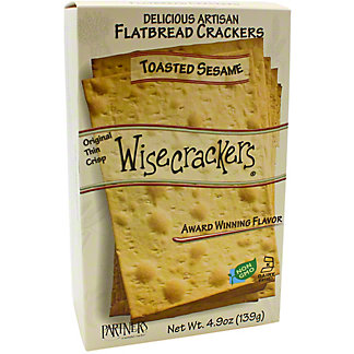 Wisecracker Flatbread Toasted Sesame, 4.9 oz