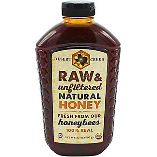 Desert Creek Raw Natural Honey , 32 oz