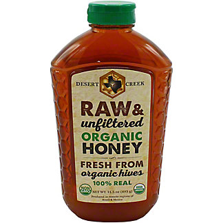 Desert Creek Raw Organic Honey , 32 oz
