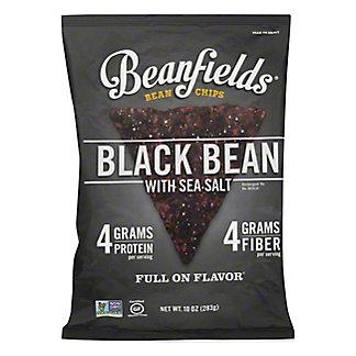 Beanfield Bean Chips Black Bean & Sea Salt, 10 OZ