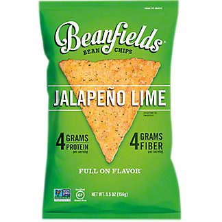 Beanfields Jalapeno Lime Bean Chips , 5.50 oz